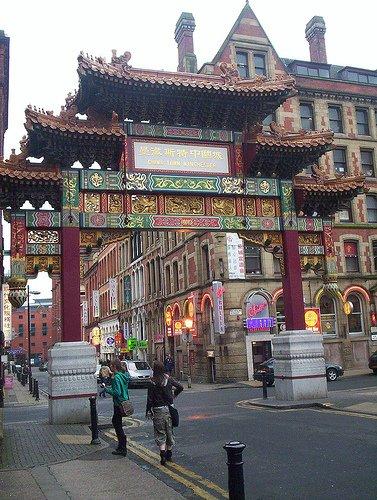 Chinatown di Manchester