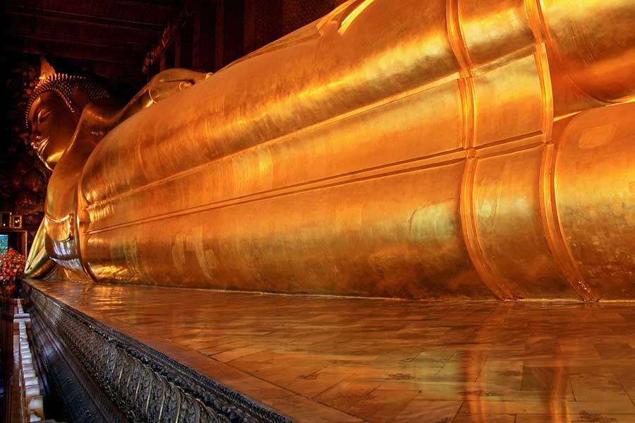 Wat Pho Buddha sdraiato - Foto D. Gorla