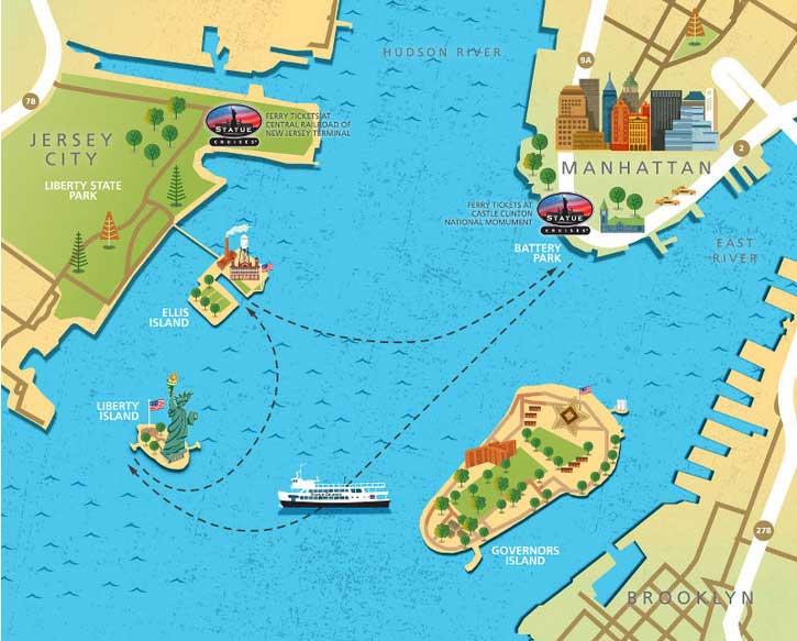 Traghetto Ellis Island