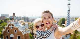Barcellona con bambini