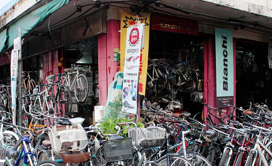 Bangkok in Bicicletta