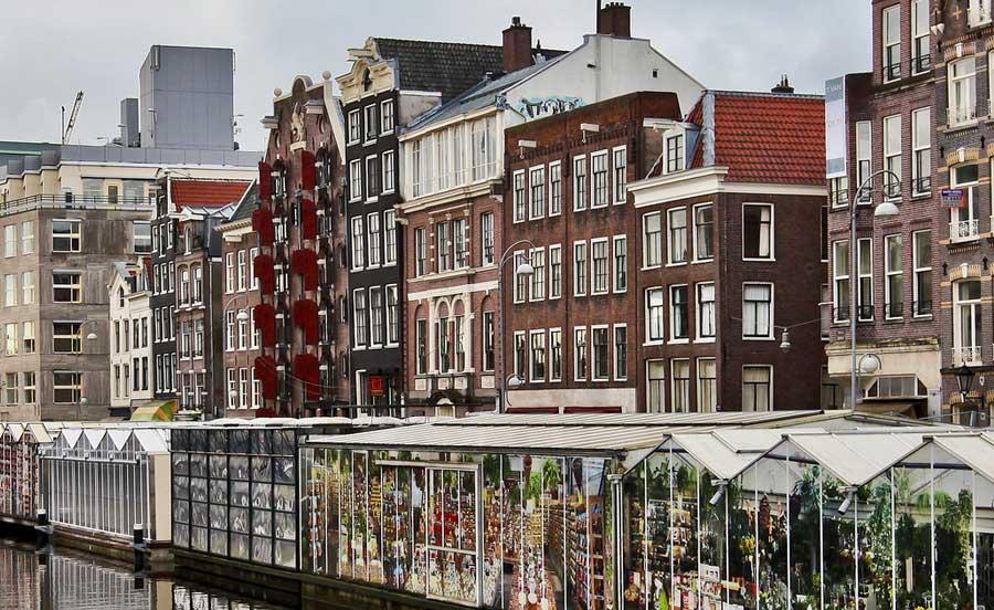 Bloemenmarkt - Mercato dei fiori