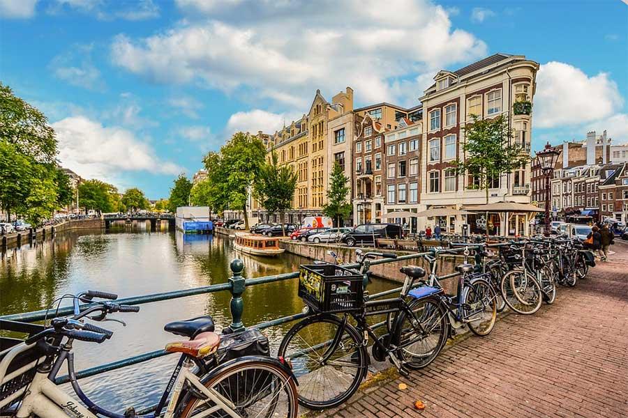 Bici ad Amsterdam