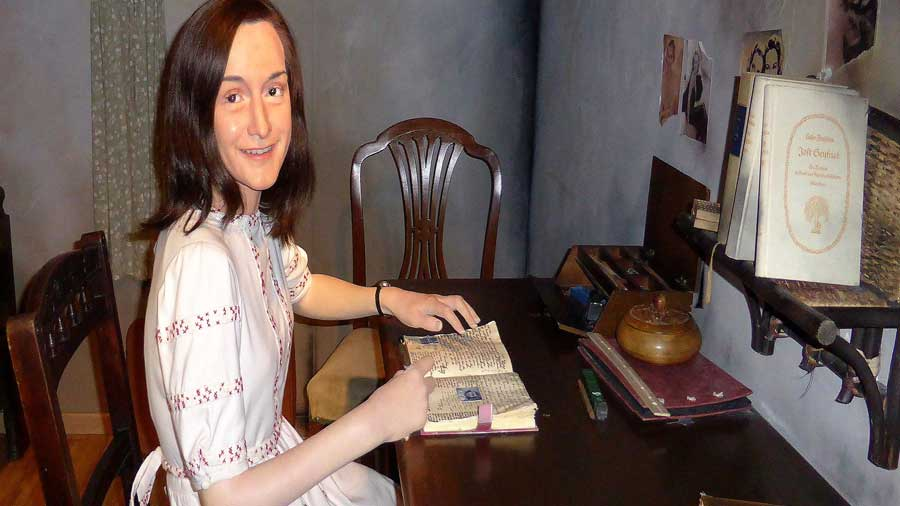 Riproduzione al museo delle cere Madame Tussauds