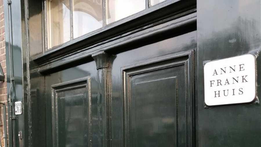 L'entrata della Casa di Anna Frank