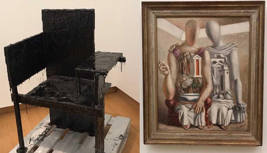 2 opere del museo