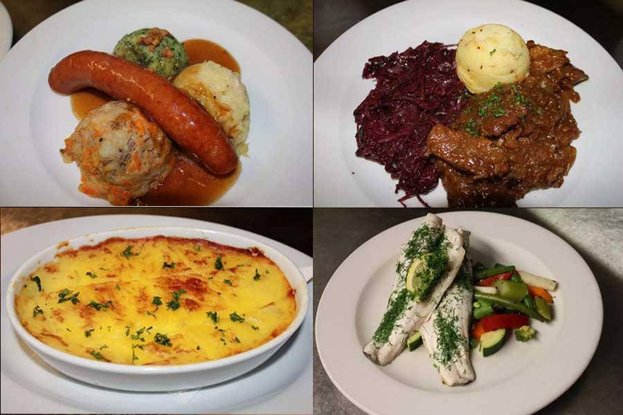 Alcuni dei piatti che è possibile mangiare presso il The Pantry