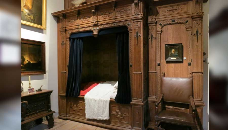 Il letto dove dormiva Rembrandt