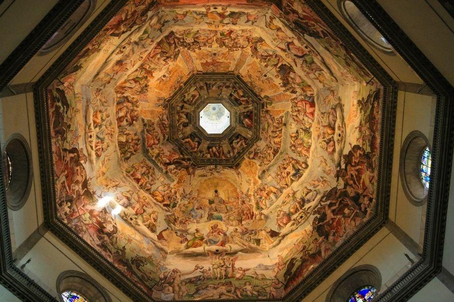 Interno cupola duomo di Firenze
